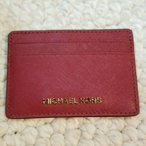 Michael Kors Mulberry Money Pieces Card Holder